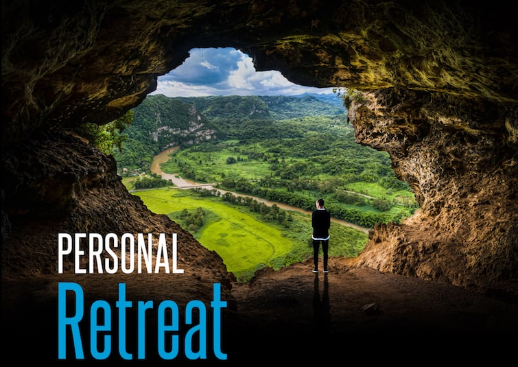 personal retreat book graphic